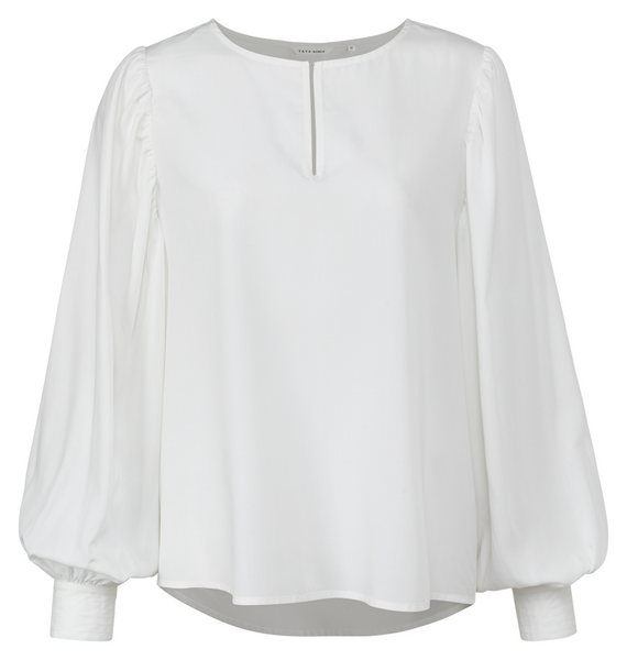 Drappy Top with volume sleeve