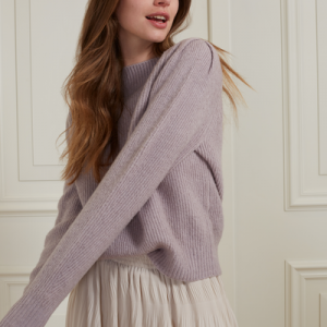 Boatneck Sweater lilac